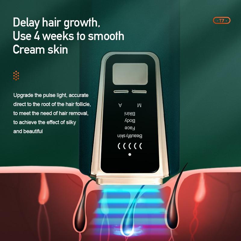 IPL Hair Removal Depilador Laser Hair Removal Machine Epilator Permanent Bikini Trimmer Hair Remover Epilator for Body enlarge