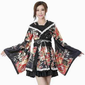 Bliss Pure Land dance clothes cosply costume female Lolita skirt house dance kimono maid costume anime kimono female