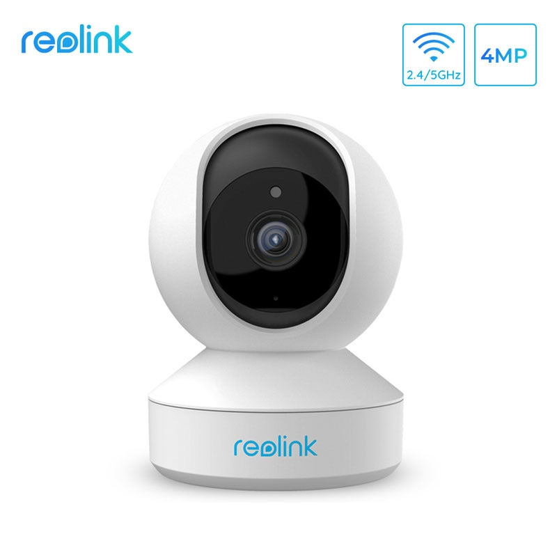 Reolink 4MP Hause Kamera IP Kamera 2,4G/5G Innen Kamera WiFi Pan & Tilt Hören und Sprechen 2-weg Audio SD Karte Slot E1 Pro