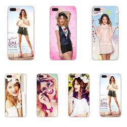 Martina Stoessel Violetta Luxo Oferta Especial Para Xiaomi Redmi 3 3S 4 4A 4X 5 6 6A 7 K20 Nota 2 3 4 5 5A 6 7 Plus Pro