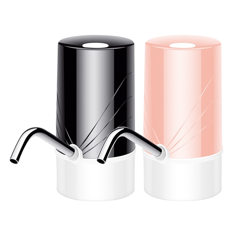 Dispensador de agua automático eléctrico inalámbrico, llenado de barril Mineral puro, prensa de agua, dispensador de agua inteligente para el hogar recargable por USB