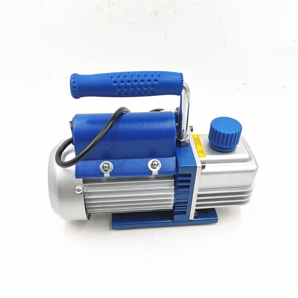 FY-1H-N роторная лопасть одноступенчатый воздушный вакуумный насос 2PA Окончательный вакуум для кондиционирования воздуха и ЖК-экран сепарато...