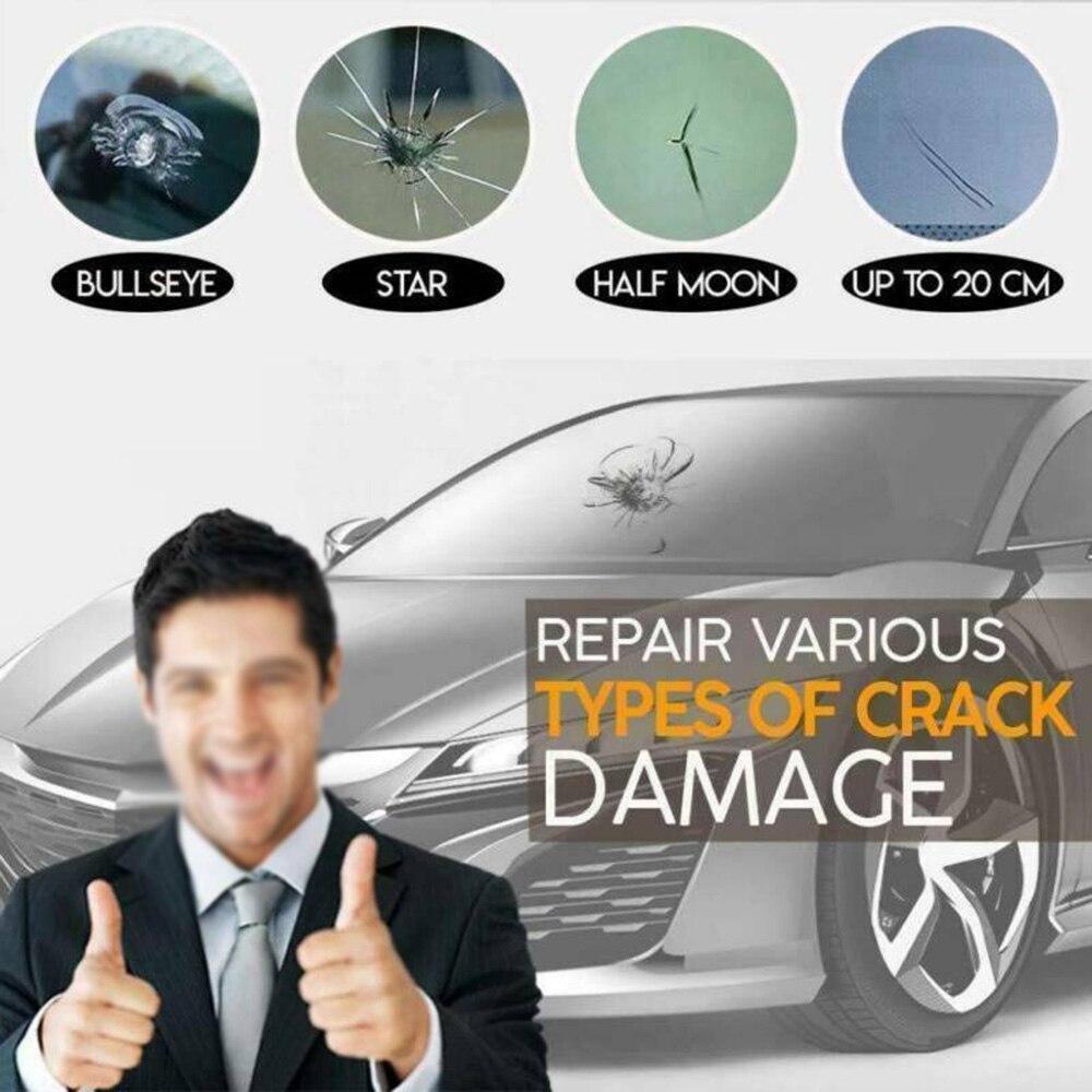 Auto Repair Fluid Automotive Repair Fluid Kit Window Crack 2 PCS High Quality