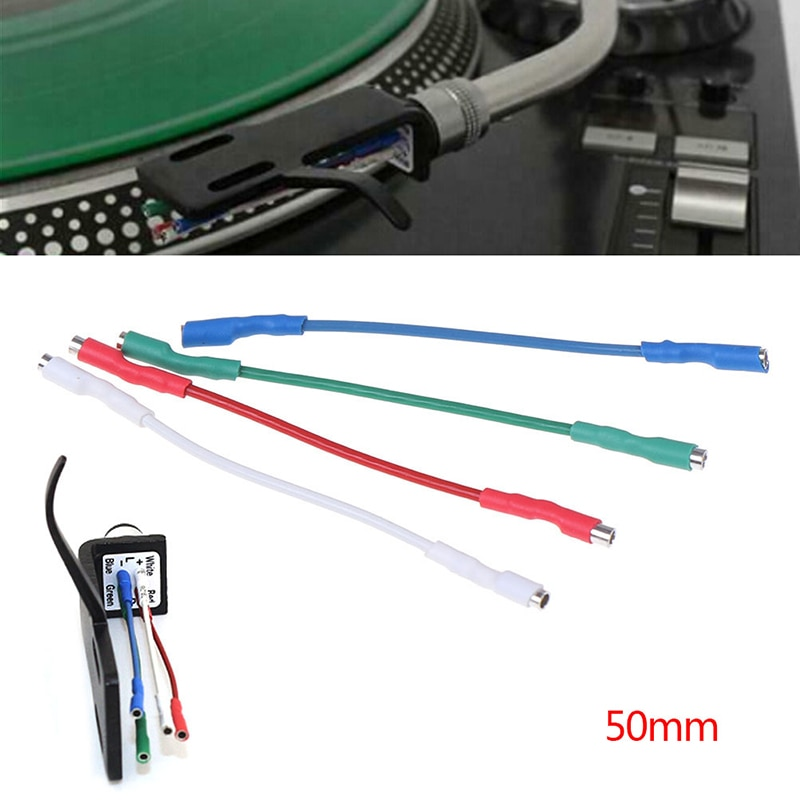 Cable de cabeza Universal para tocadiscos, Conector de cabeza de 50mm, 5N,...