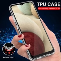 luxury clear case for galaxy a 12 52 30 50 s 51 71 transparent shockproof clear case for samsung galaxy s 9 10 20 plus fe ultra