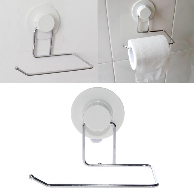 Colgador de soporte de papel higiénico, colgador de succión de baño, toallitas, ganchos de cocina, triangulación de envíos