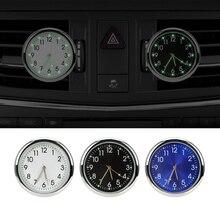 Analog Watch Car-styling Car Electronics Air Outlet Decoration Ornaments Luminous Car Clock Quartz C
