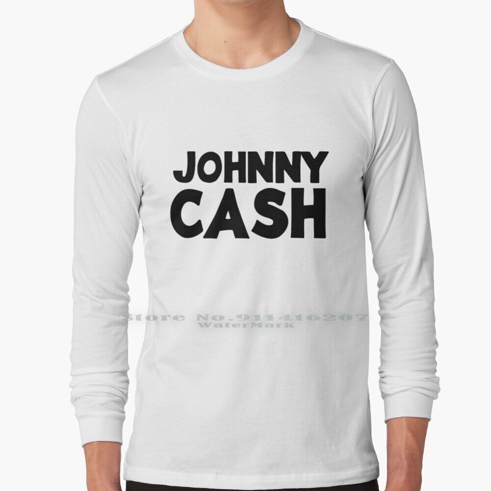 Johnny Cash ( Black ) T Shirt 100% Pure Cotton Money Johnny Country Music Western
