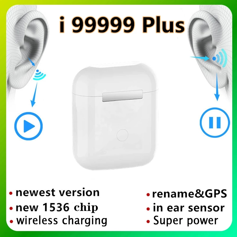Auriculares TWS I99999 Plus, inalámbricos por Bluetooth, Rename, i99999 plus, Android, PK...