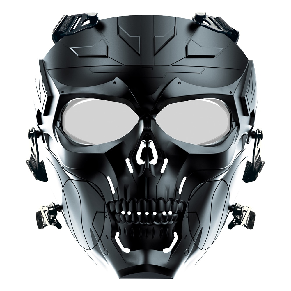 New Airsoft Paintball Mechanical Mask With PC Lens For Sports  Tactical Protection CS Game Military Hunting And Equipment Masks dz47 63h miniature circuit breakers for household and distribution box and mechanical equipment motor overloa protection