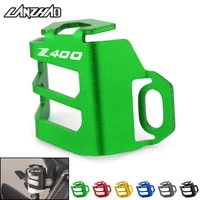 z400 motorcycle rear brake fuel tank oil cup cover protector holder cnc aluminum accessories for kawasaki z400 2017 2018 2019