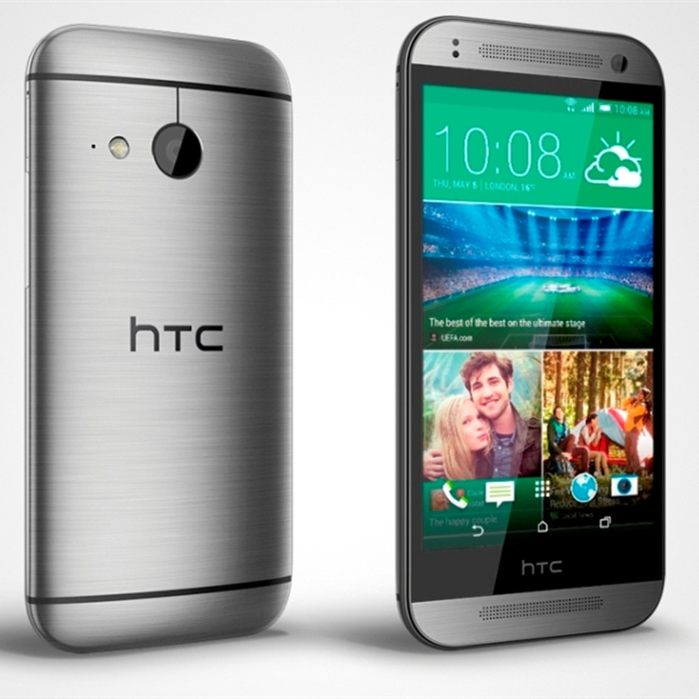 Used HTC One mini2 4G LTE smartphones 1G RAM+16G ROM 5mp+13mp front/back camera GPS NFC Android mobile phones quad core celulars