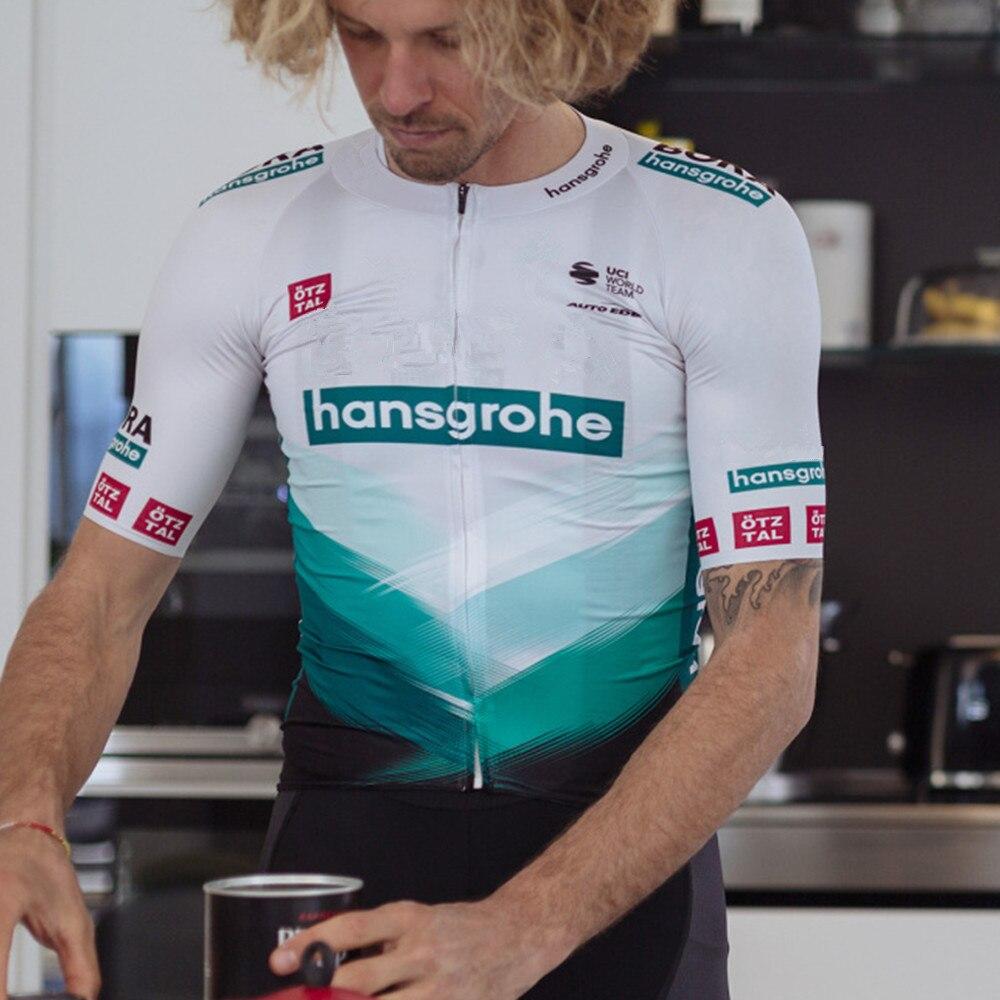 Boraful-jersey de ciclismo hansgrohe para hombre, ropa de bicicleta de carreras de...
