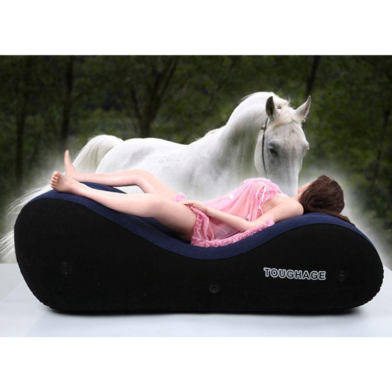 Mueble sofá inflable silla cama alternativa juguetes Multi-funcional de las parejas sexo Bondage amor adulto G-spot Amor de X3UE