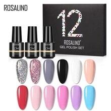 ROSALIND Gel Polish Kit All For Manicure Gel Set Hybrid Varnishes Nail Art Polish Base Top Soak Off
