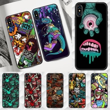 Fashion Graffiti Art Phone Case Cover Hull For iphone 5 5s se 2 6 6s 7 8 12 mini plus X XS XR 11 PRO