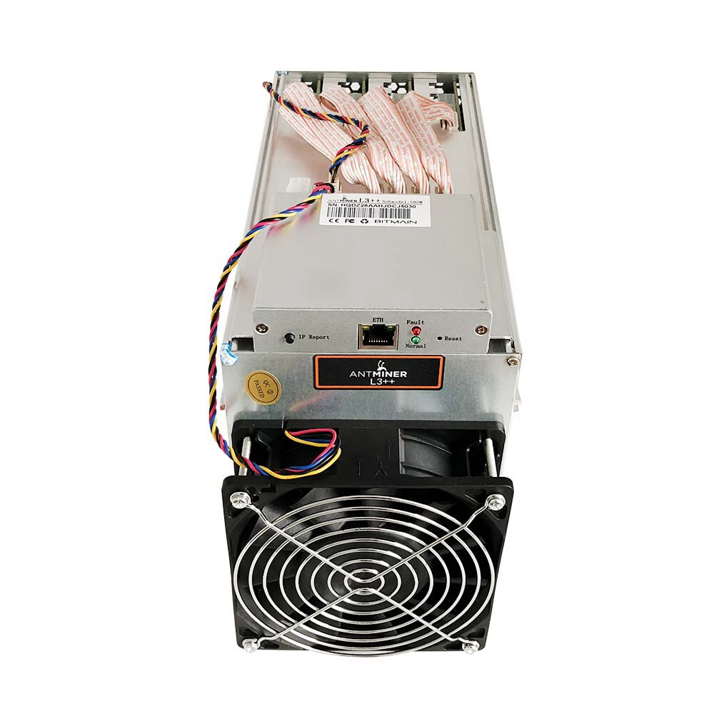 Bitmain Antminer L3+ with PSU Scrypt Asic used bitcoin miner bitminer/L3+ Crypto Hashrate Board Ready to Ship