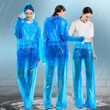 Femmes imperméable imperméables & pantalons de pluie vêtements de pluie couvertures vêtements de pluie aléatoires jetable imperméable à capuche hommes manteau de pluie manteau