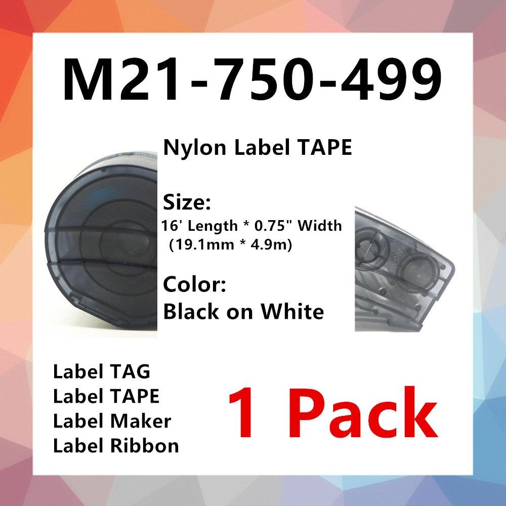 1 paquete bmp21 etiqueta cinta de Nylon M21 750 de 499 de...
