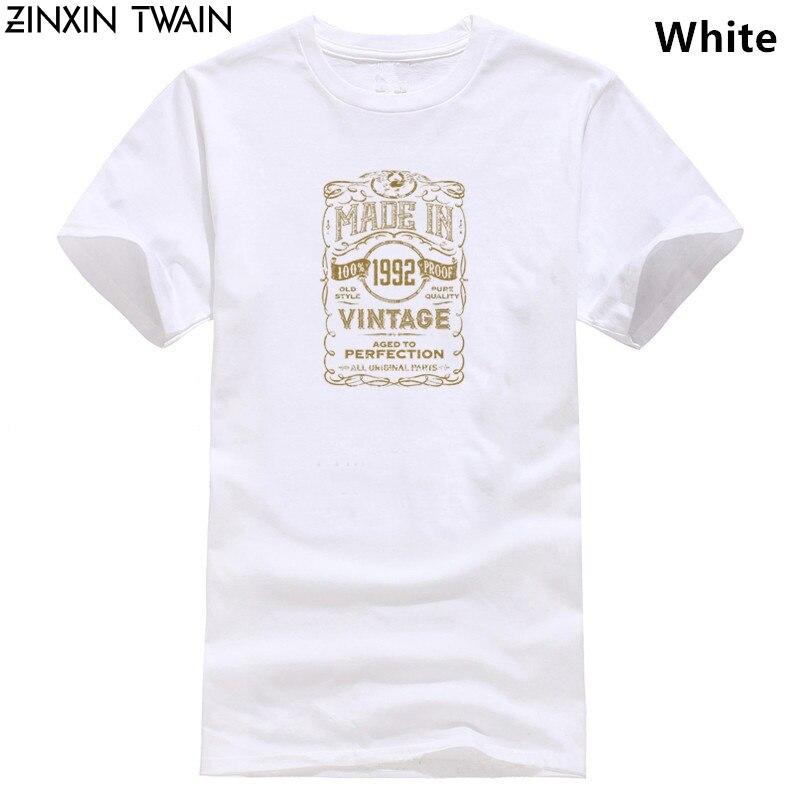 En 1992 camiseta 26th año Edad de cumpleaños presente Vintage divertido regalo para hombre Casual orgullo t camisa de los hombres Unisex