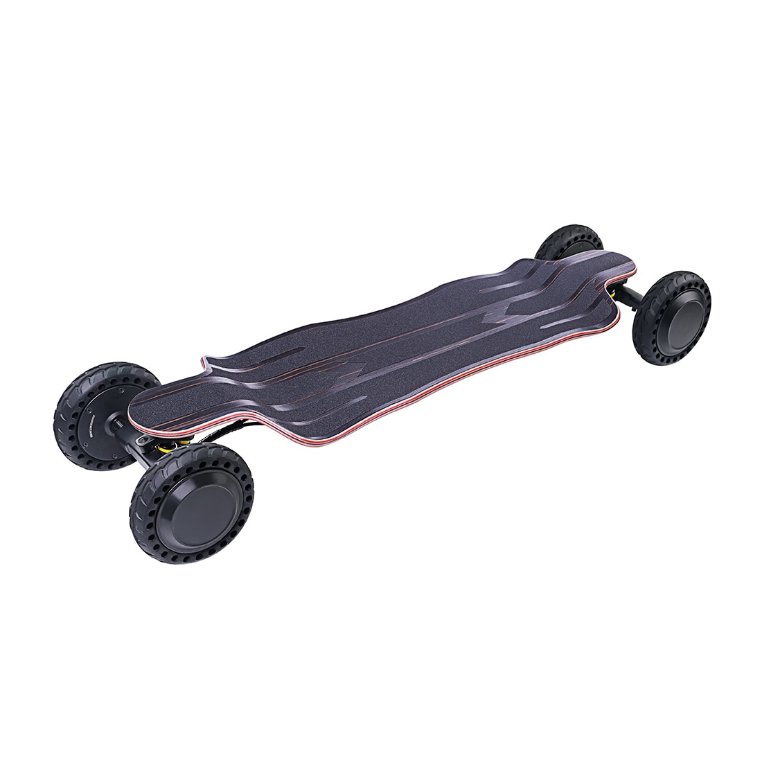 BRT04 4-wheel Electric Skateboard Outdoor Frosted Board Electric Scooter for Outdoor Racing Playing