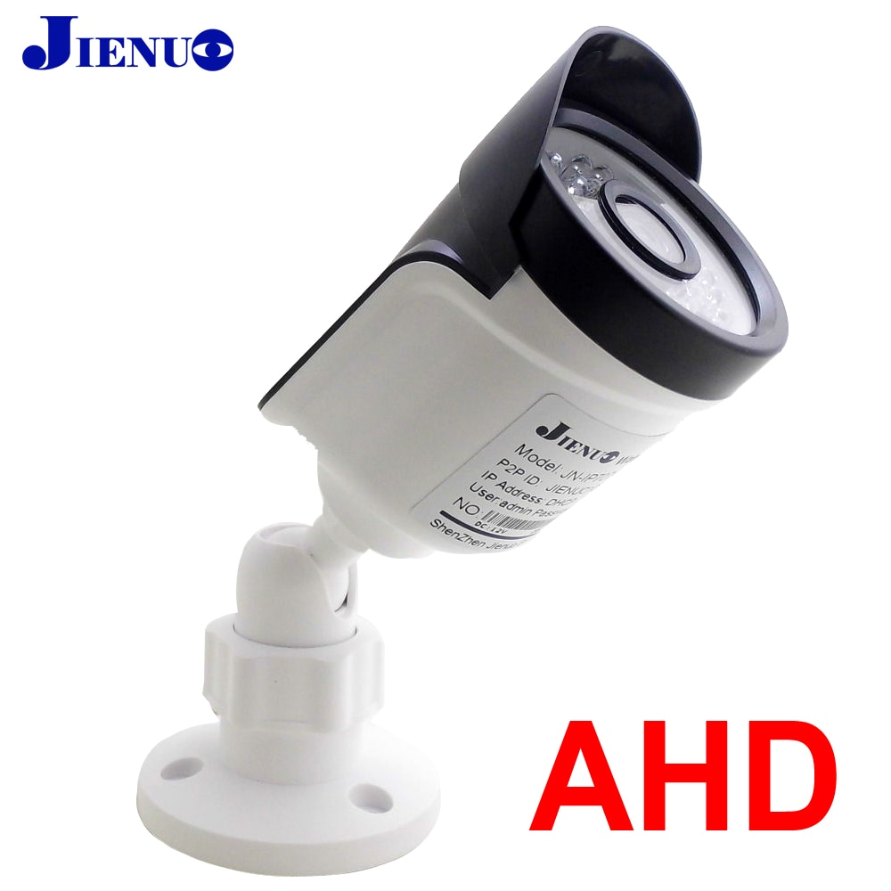 AHD камера 720P 1080P 4MP 5MP Аналоговое наблюдение высокой четкости инфракрасное ночное видение CCTV безопасности дома открытый пуля 2mp Hd