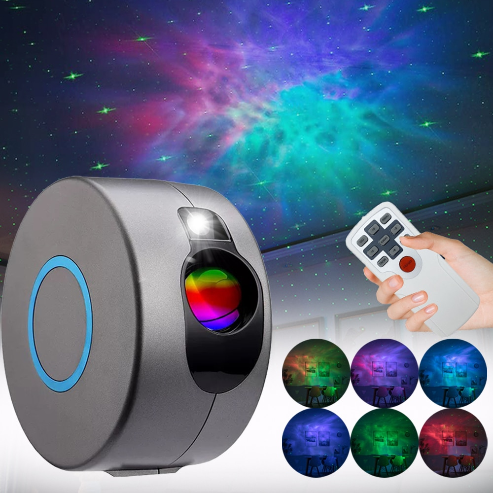 Star Projector Galaxy Lamp Sky Light Galaxy Projector Starry Night Light Fancy For Bedroom Decor Night Lamp Novelty Lighting