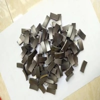 free shipping 4pcs of diamond segments for being used to repair 18 400mm diameter diamond wet core bits segments replacement