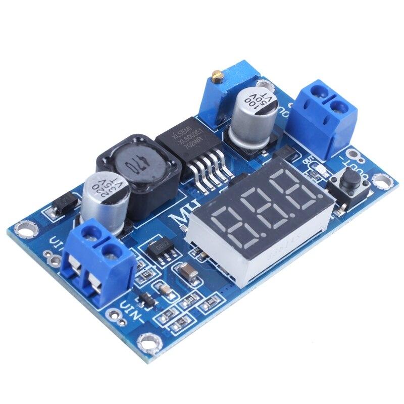 ELEG-DC-DC Step-Up Converter Module 4A Power Supply Voltage Adjustable XL6009E1