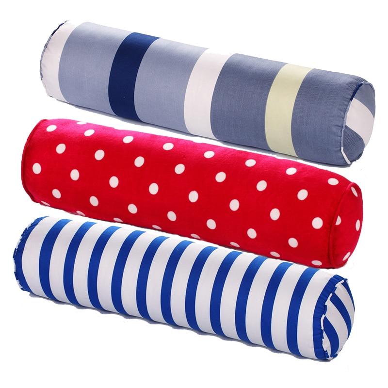 وسادة يوجا دائرية متعددة الوظائف ، وسادة قيلولة ، قماش سنفرة مخملي ، مبطن ، قطن ، رعاية صحية للرقبة