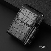 2 in 1 Cigarette Box Lighter Holder Tobacco PU Leather Nice Gift Smoker Smoke Tools Cigar Case Men S