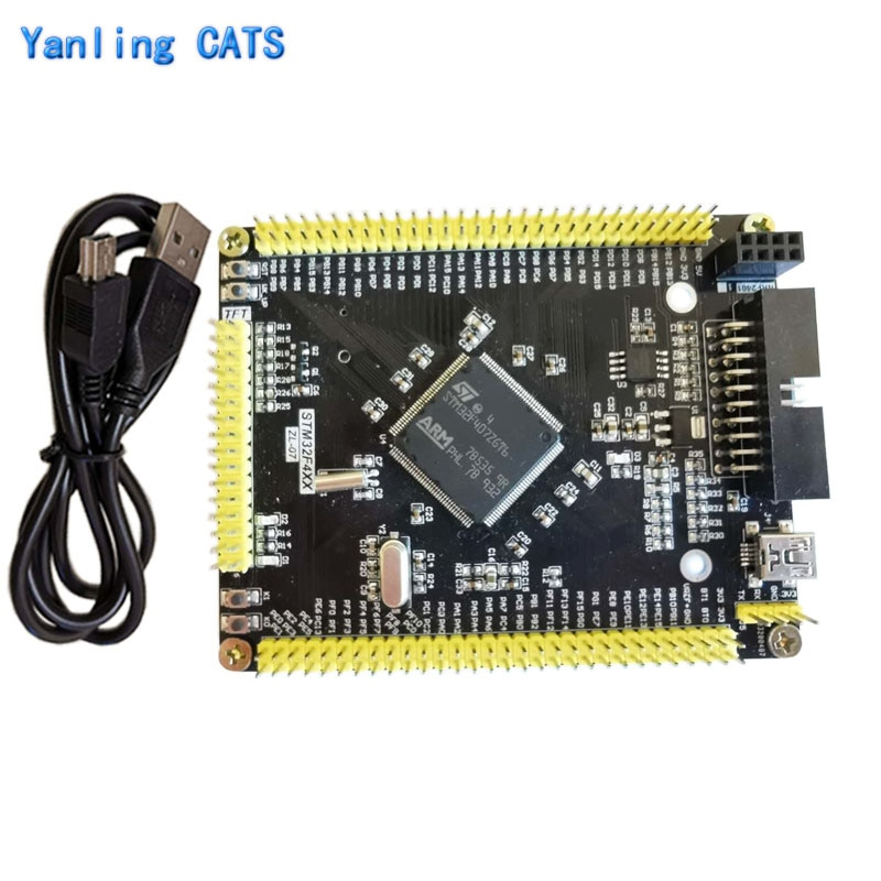 STM32f407ZET6 Arm Cortex M4 Development Board STM32F4 Discovery MCU LQFP144 Pin Minisystem Core Board with Usb Cable 1PCS ZL-07 недорого