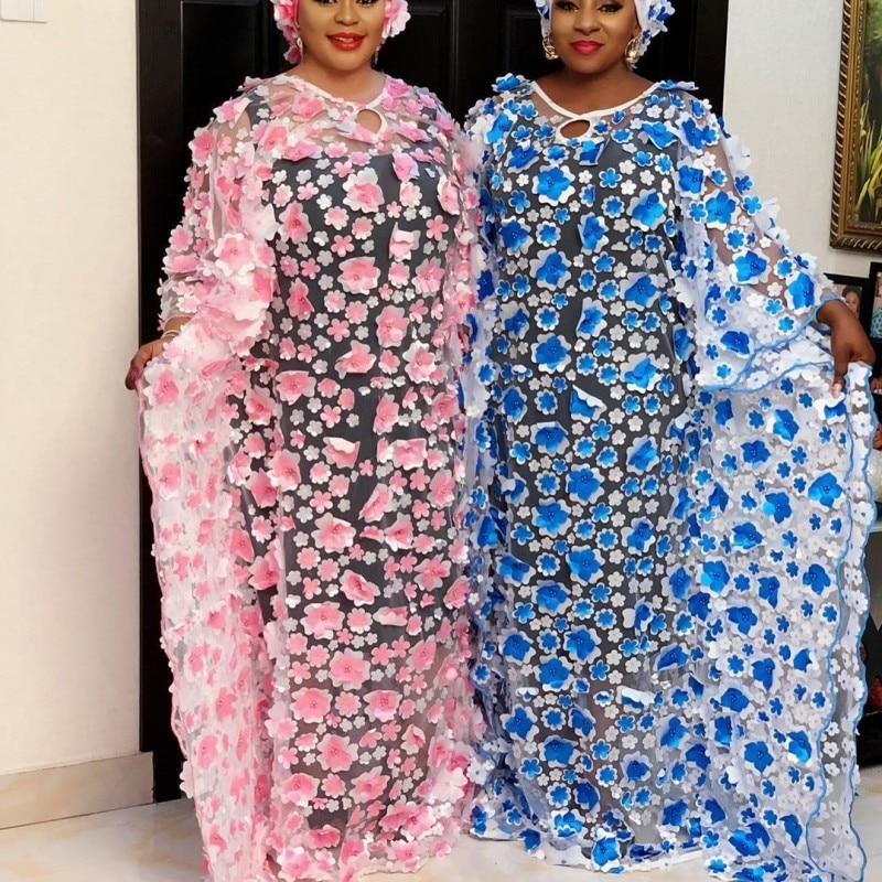 2 قطعة مجموعة فستان أفريقي للنساء 2020 الصلبة حجم كبير الصيف زين فستان طويل سبليت مع مرونة ضئيلة طويلة خزان الداخلية