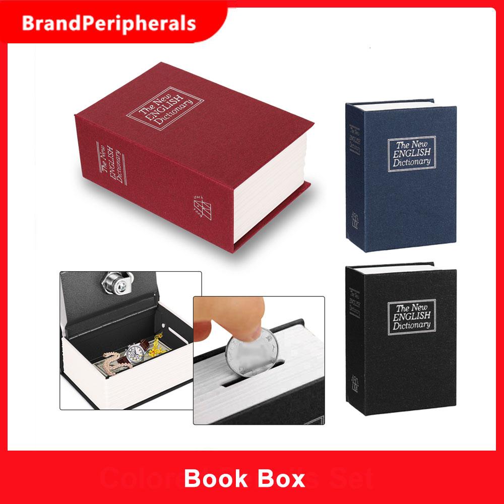 Секретный ящик в словаре сейф книжка замок для безопасности денег хранения монет