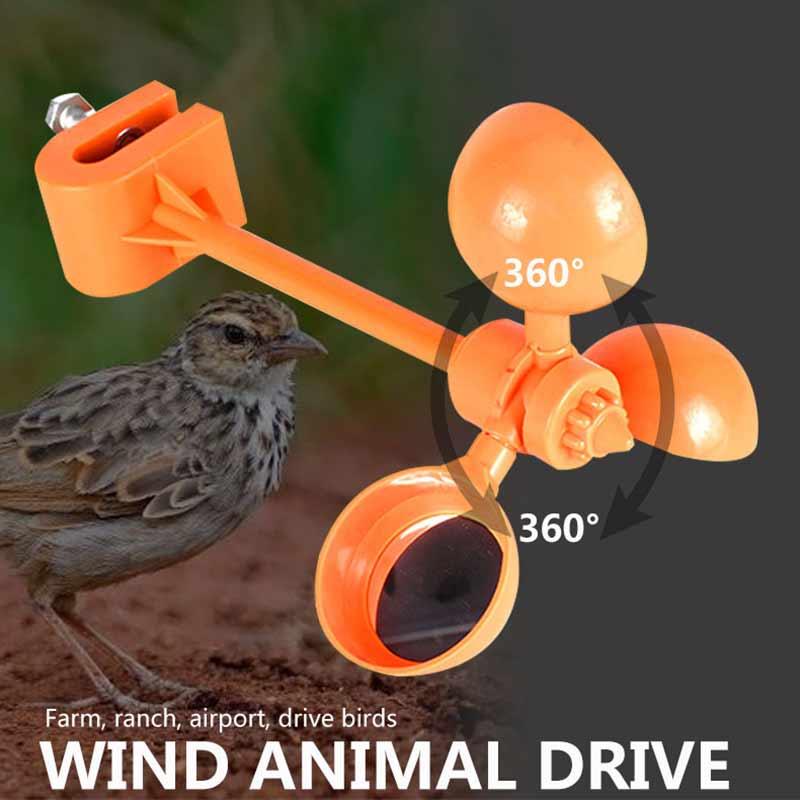 AliExpress - Bird Repeller Outdoor Pest Control Pole Tower Wind Power Scarer Animal Crow Tools Deterrent Substation Plastic Garden Supplies