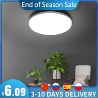Светодиодная панельная лампа, естественное освещение, 48 Вт, 36 Вт, 24 Вт, 18 Вт, 13 Вт, 6 Вт светодиодный Светодиодный потолочный светильник AC85-265V, ...