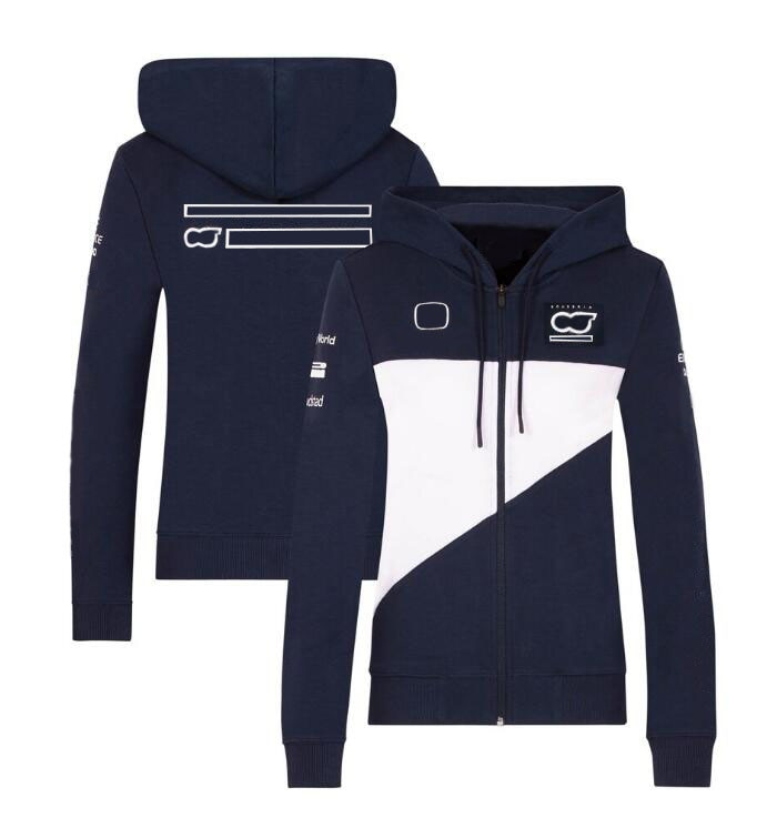 2021 new hot selling f1 racing hoodie car racing fans f1 team logo jacket with the same custom f1 jacket F1 team 2021 jacket, f1 racing hoodie, zipper sweater, the same style is customized