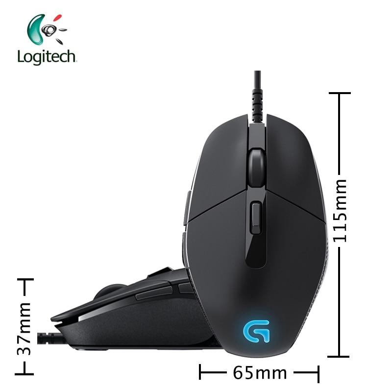 Mouse com Respiração Suporte de Interface Luz para o Jogo de Computador Logitech Wired Gaming – 8 7 4000dpi Usb G302 Windows10