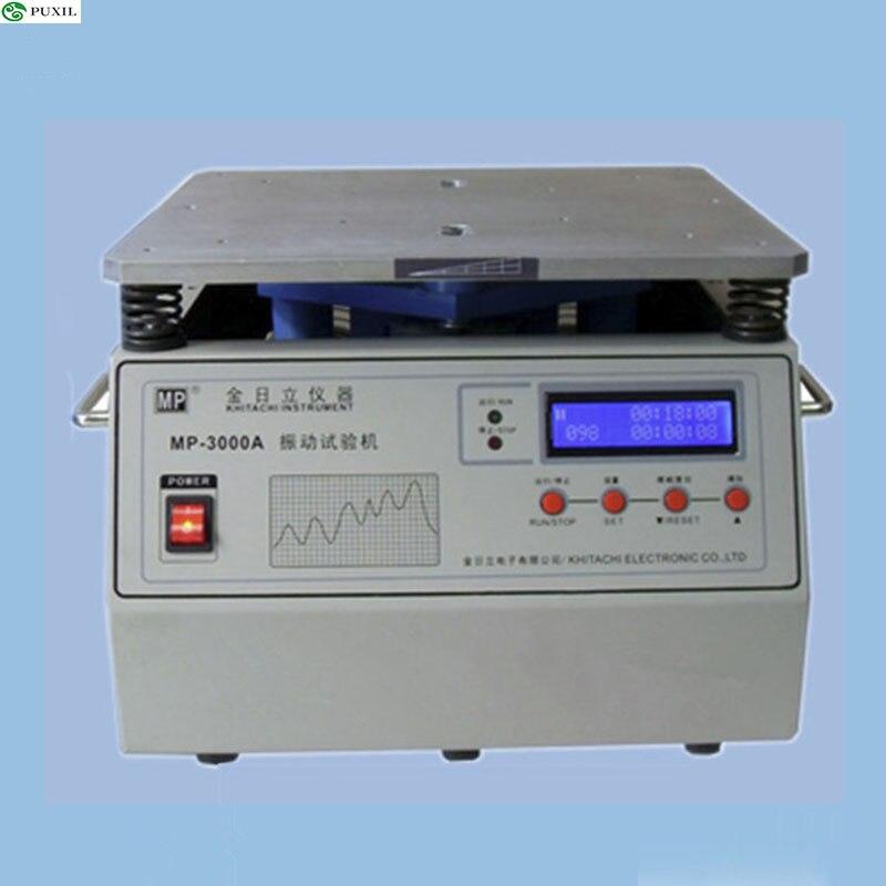 Banco de prueba de vibración estéreo MP-3000A, probador de vibración, máquina de mesa de vibración de frecuencia de potencia Vertical 220 V/110 V