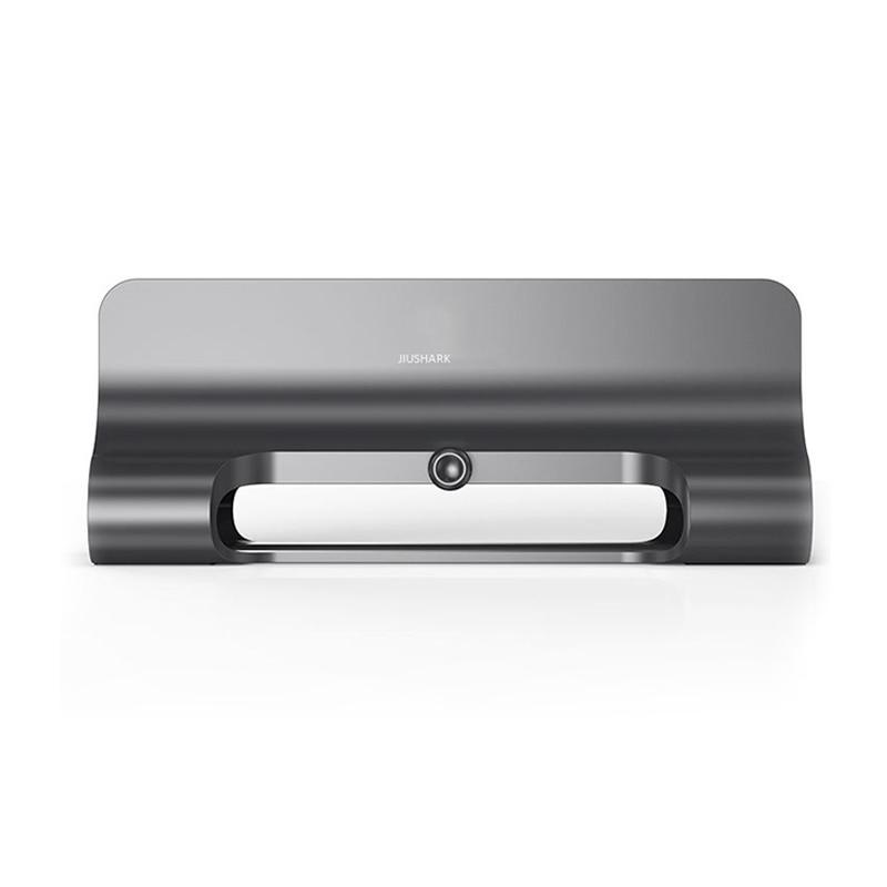 JIUSHARK Universal Vertical Aluminum Laptop Tablet Stand Storage Support Base Desktop Anti Slip Adju