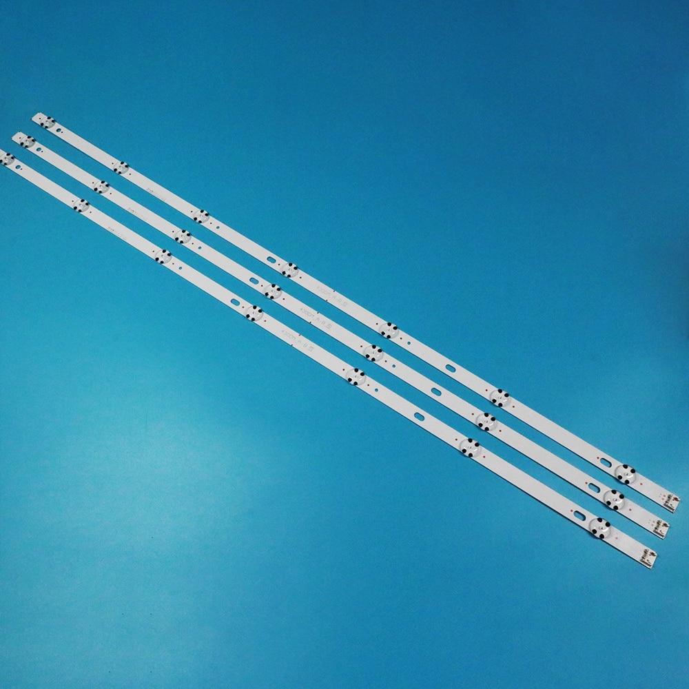 30pcs LED backlight strip for LG 43LJ510V LC43490062A LC43490063A LC43490064A LC43490060A 43UJ65_UHD_A/B LC43490058A LC43490059A