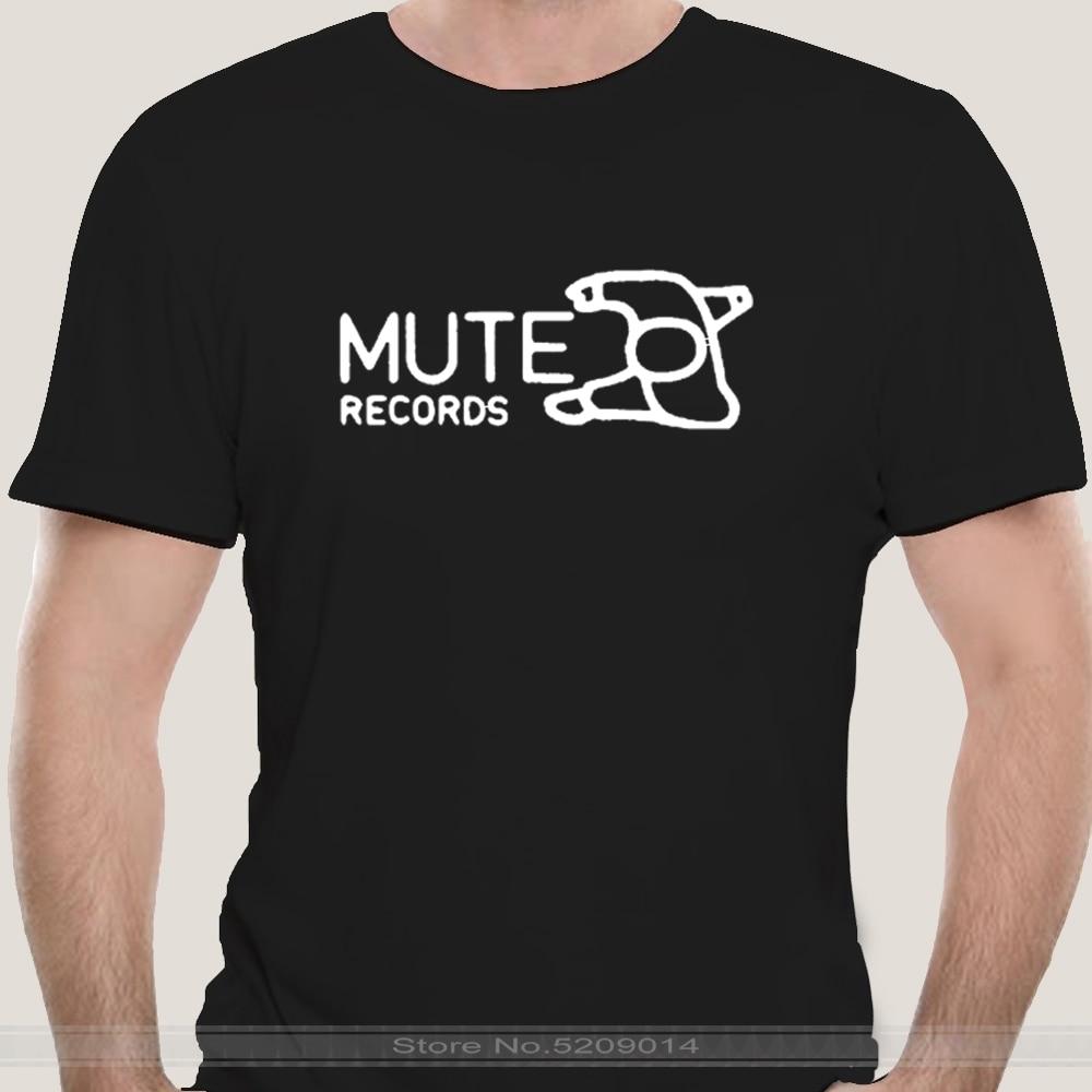 Mute Records 3 Black T Shirt Cool Casual pride t shirt men Unisex New Fashion tshirt free shipping  funny t shirts недорого