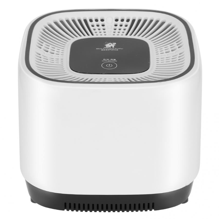 3 Layer Filter Air Purifier 360 Degree Micro Ecological Negative Ion Generator Home Air Cleaner Ioni