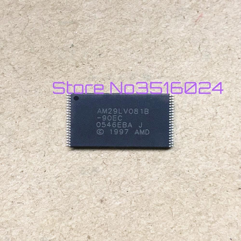 جديد 10 قطعة 29LV081B AM29LV081B 29LV081B-90EC AM29LV081B-90EC TSOP32 تسليم سريع ضمان OriginalQuality