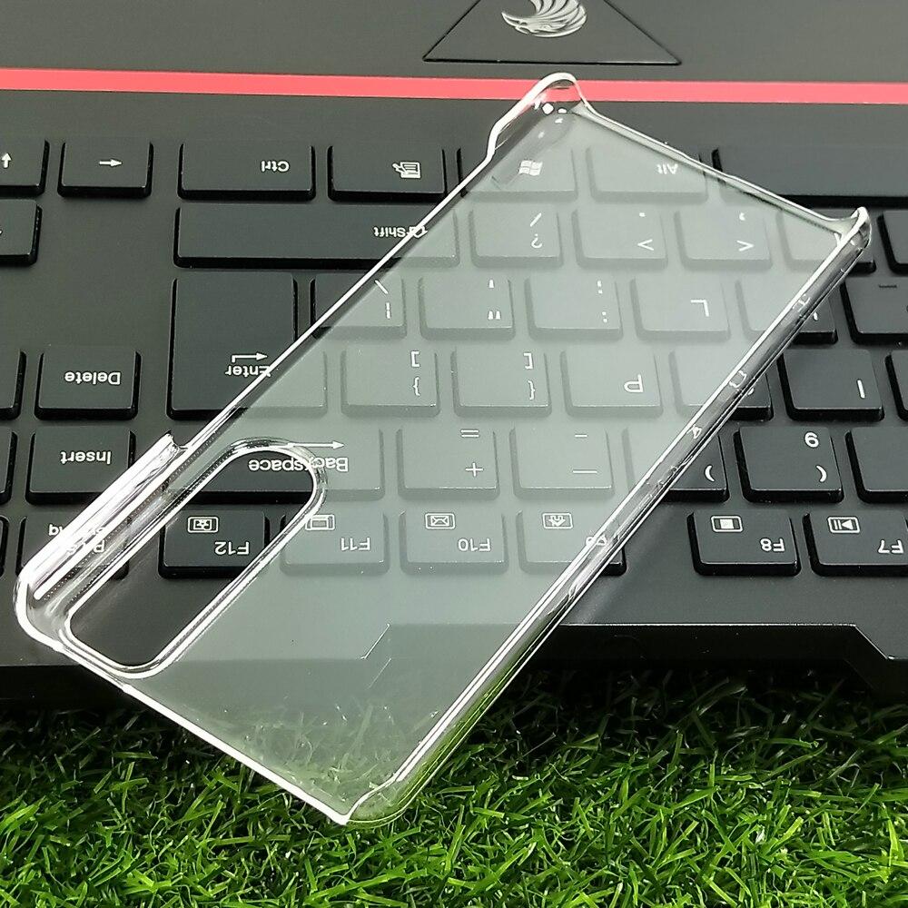 Sony-funda rígida para PC, Ultra transparente, para Xperia 5 Ⅲ, delgada, transparente