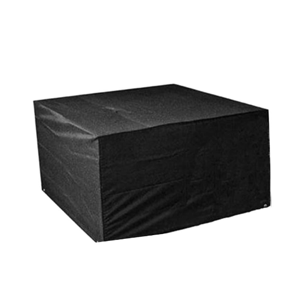 Couverture anti-poussière en Fiber de Polyester   Noir, 45cm x 40cm x 25cm, tissu lavable pour imprimante, pour fournitures déquipement de bureau