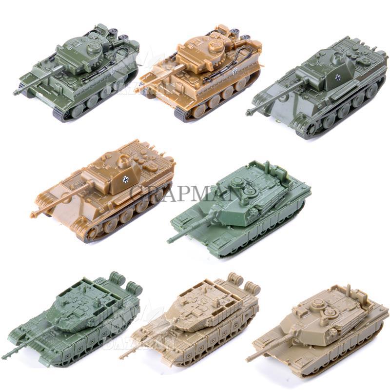 1/144 немецкий Леопардовый танк с тигром для второй мировой войны США M1A2 Китай 99 4D песочные настольные танки пластиковые Готовые модели набор игрушек для мальчика