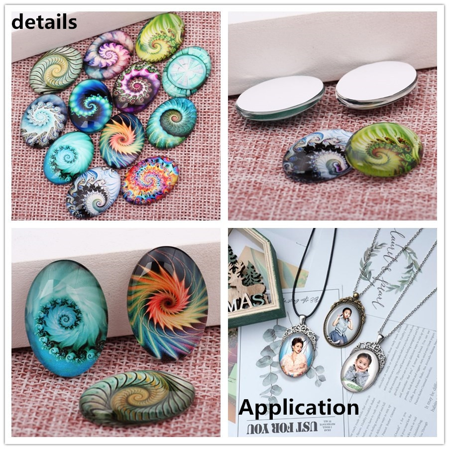 Beauty Fashion Butterfly 13x18mm/18x25mm/30x40mm mixed Oval photo glass cabochon demo flat back Jewelry findings TB0129