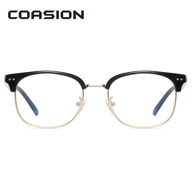 Очки COASION TR90 + с металлической оправой и блокировкой светильник женские мужские