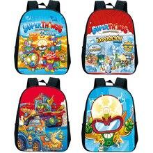 Superzings Kindergarten Backpack Kids Cartoon Rucksack Boys Girls SuperThings Series 7 School Bags C